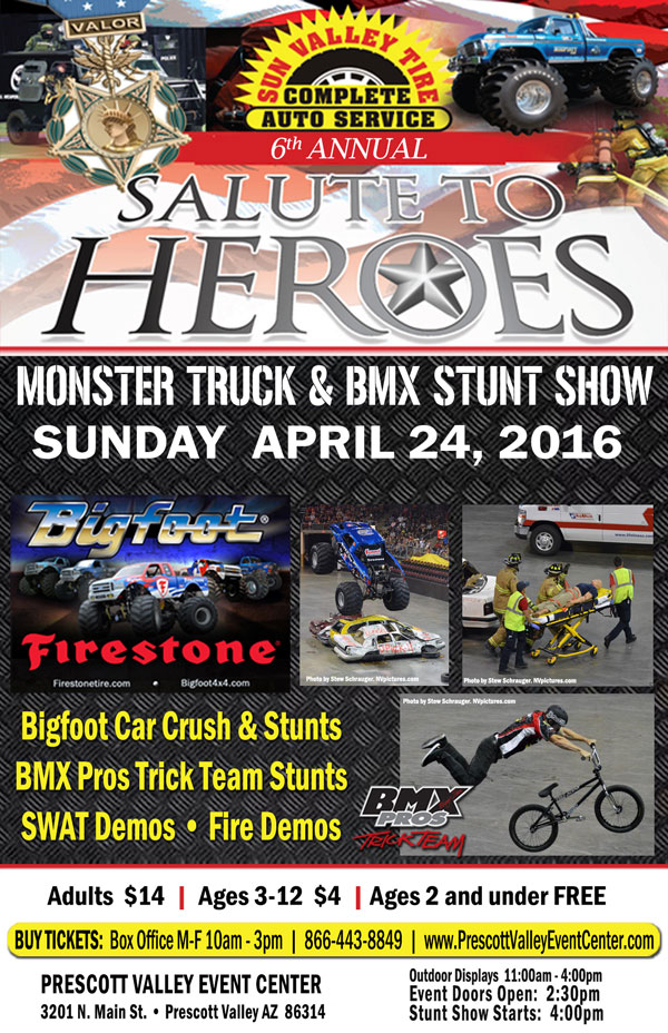 monster truck salute to heroes