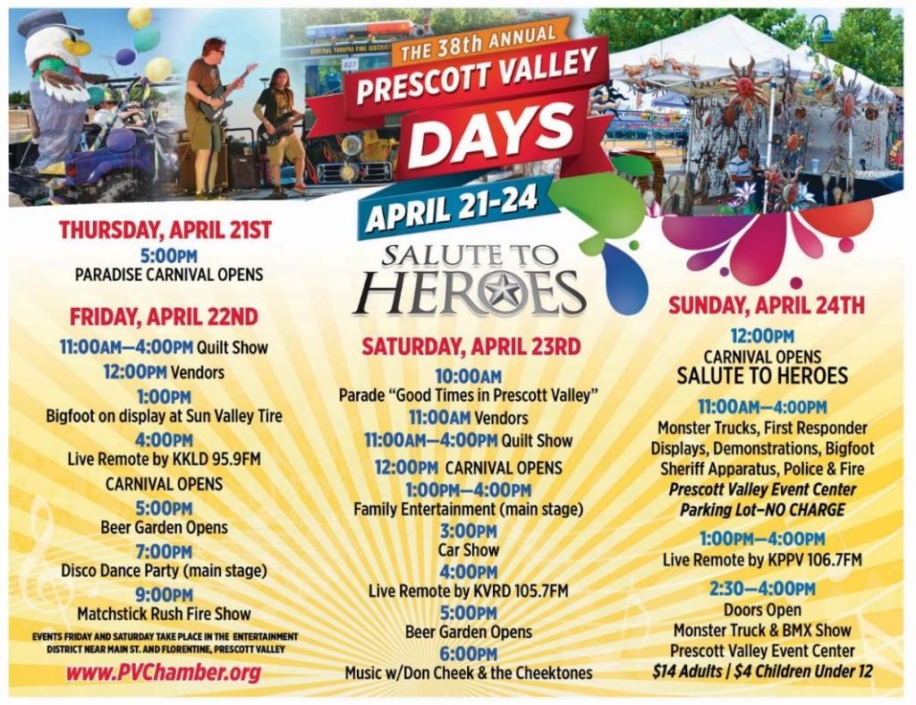 prescott valley days