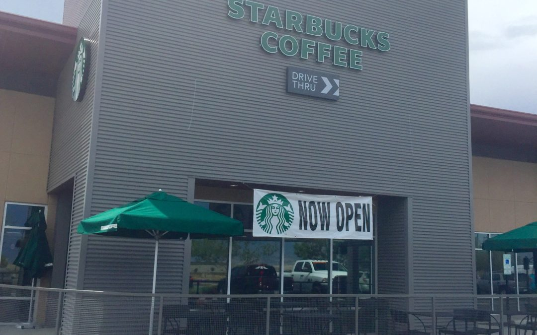 New Starbucks at Glassford Hill Marketplace