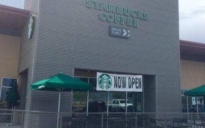 New Starbucks at Glassford Hill Marketplace