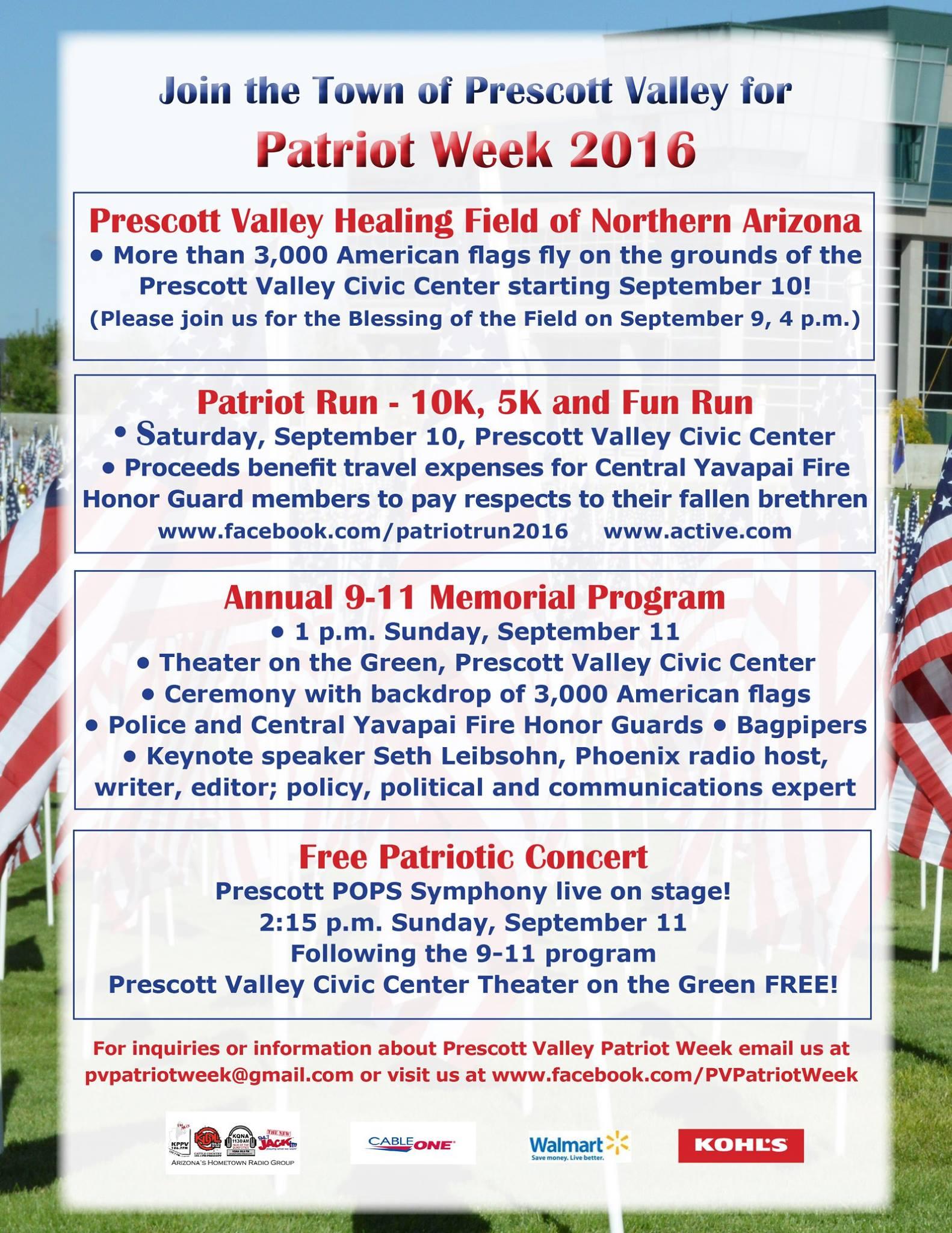 Patriot Week 2016 Prescott Valley