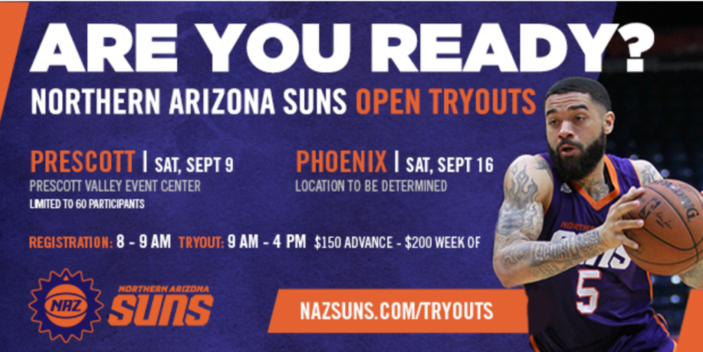 NAZ Suns try outs