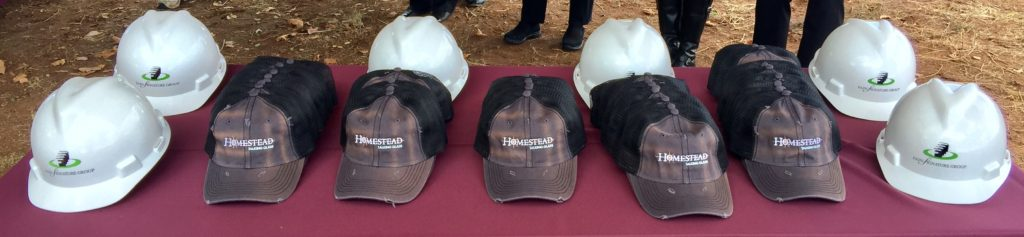 Homestead Talking Glass Hats