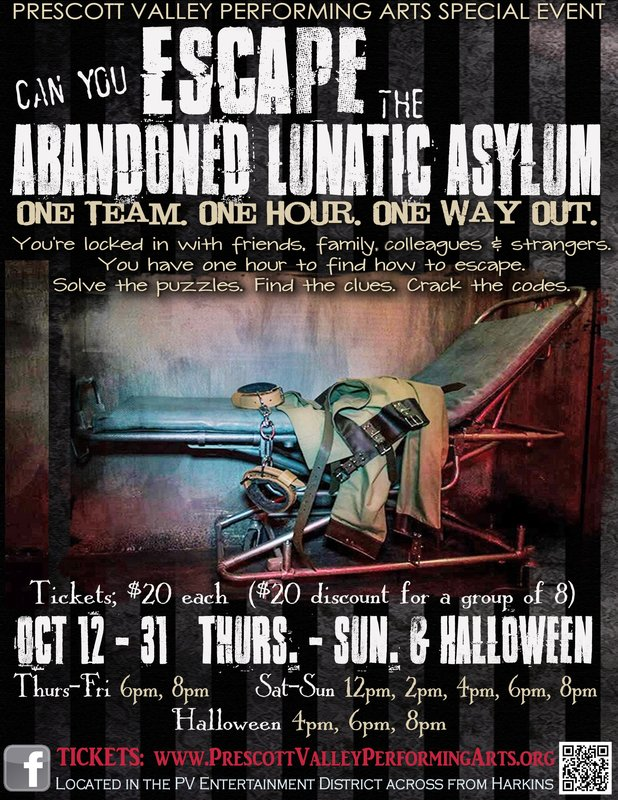 Escape the Abandoned Lunatic Asylum