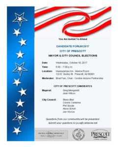 Prescott candidate forum