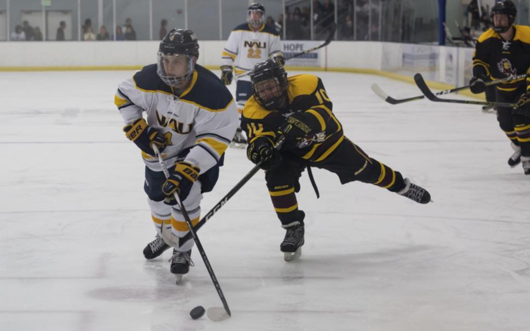NAU Hockey Comes to Prescott Valley Events Center