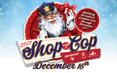 "1st Annual TALKING GLASS ""Shop with A Cop"" Fundraiser"