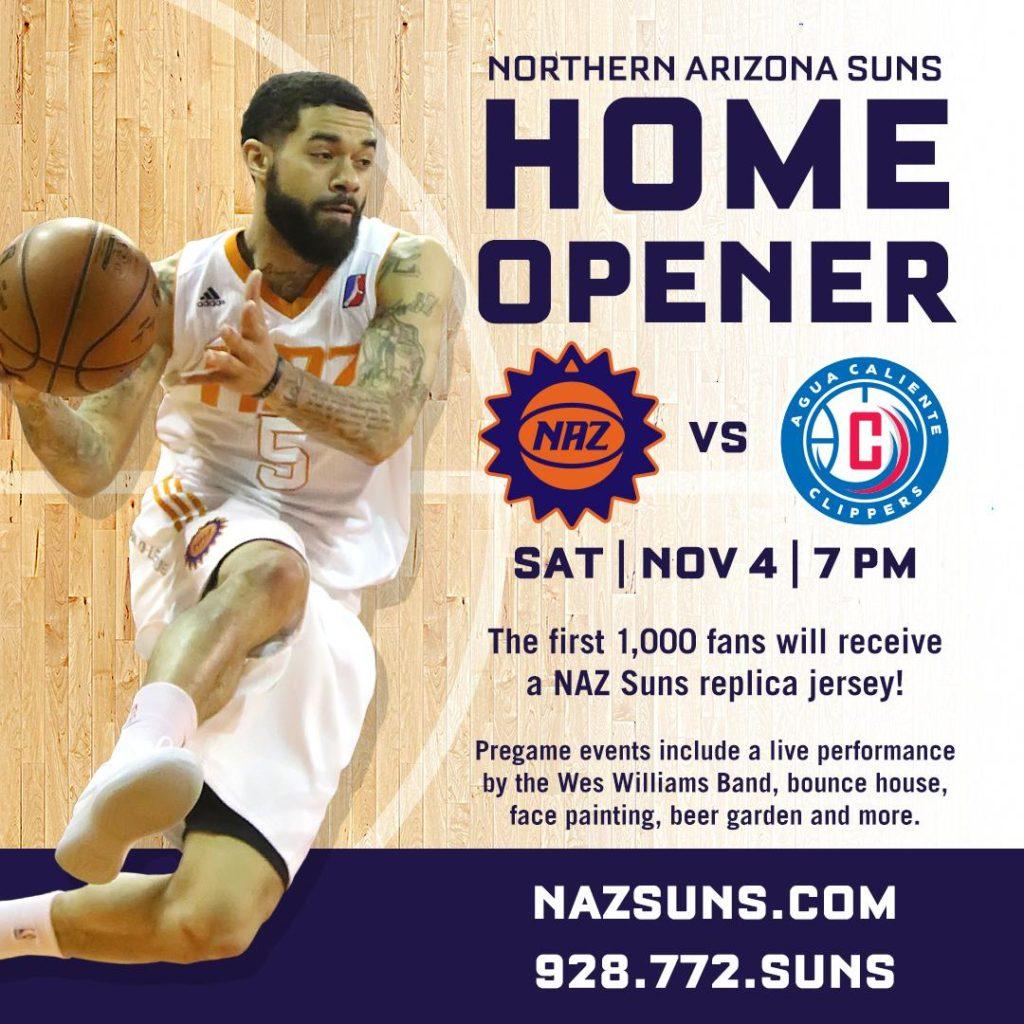 NAZ Suns Basketball Prescott Valley