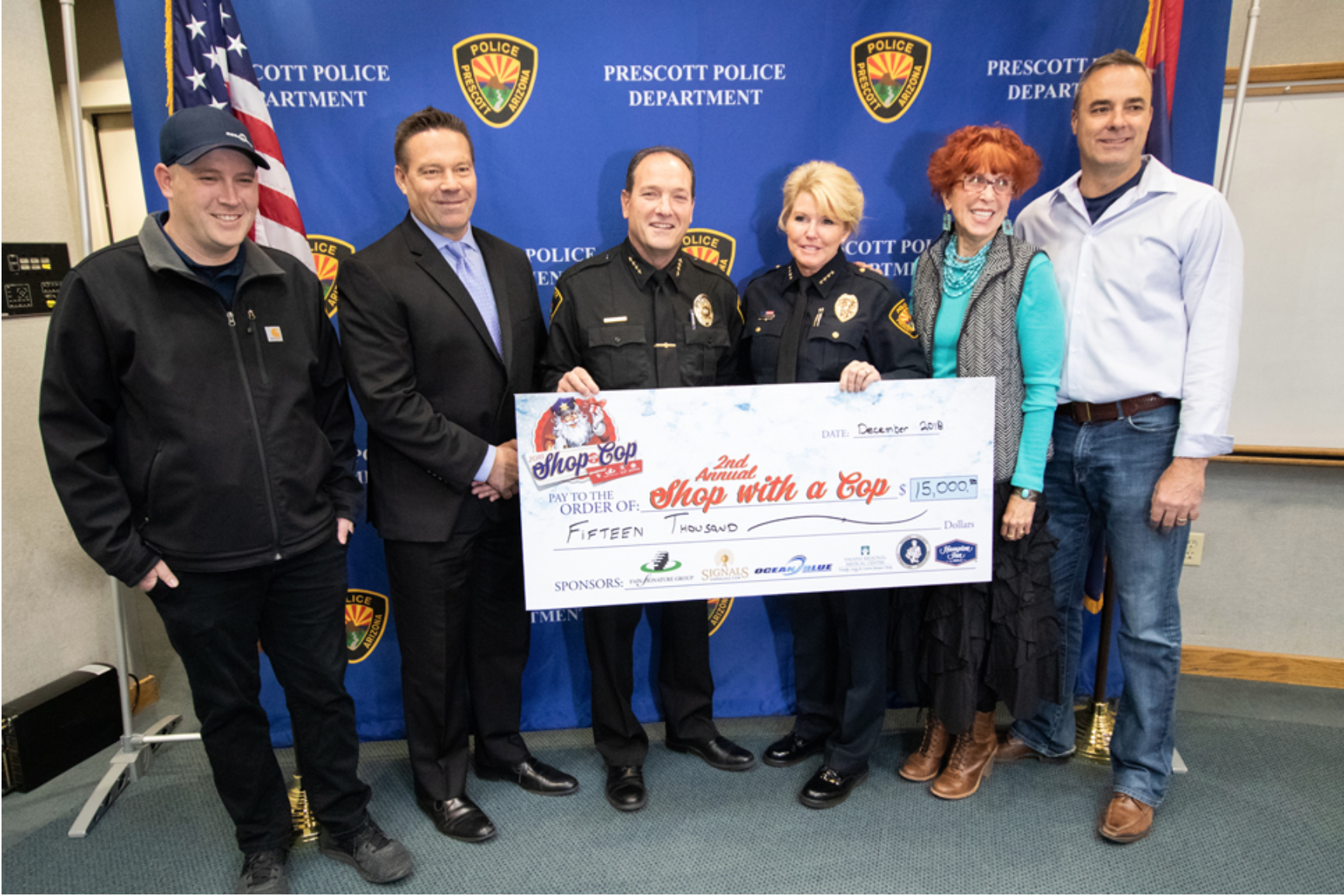 Fain Signature Group and its Multimedia Division Help Raise $15,000 for Cops and Kids