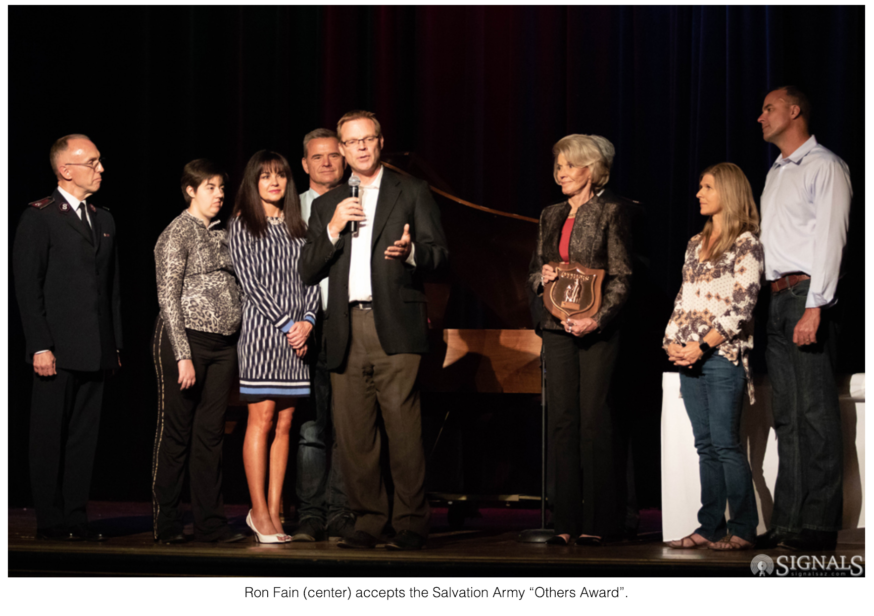 """Fain Family Receives Salvation Army's """"Others Award"""""""