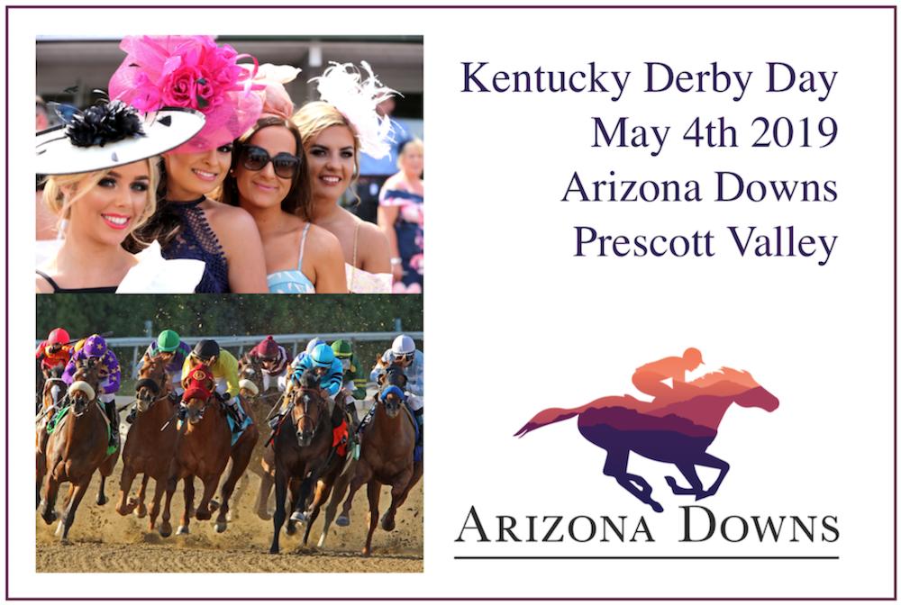 Prescott Valley's Arizona Downs Celebrating Kentucky Derby Day May 4th