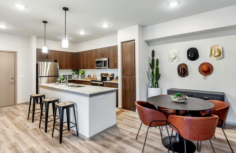 homestead apartment dining room