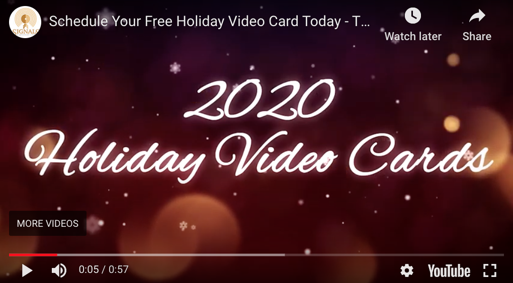 Holiday Video Cards