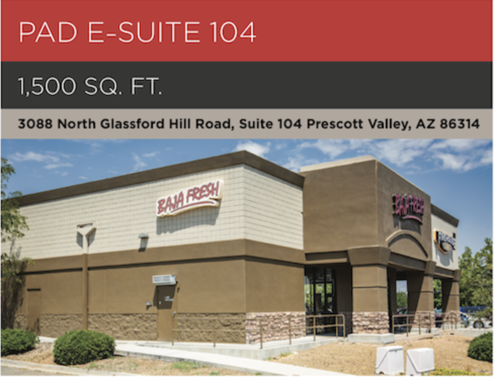 Commercial Real Estate for Lease in Prescott Valley, AZ.