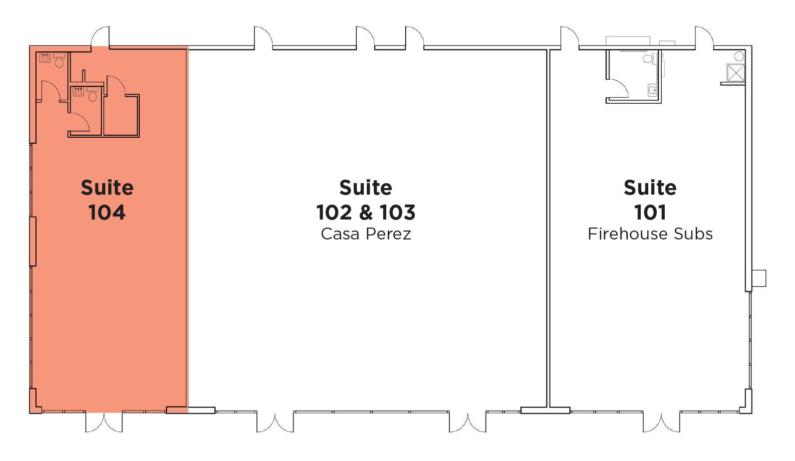 Frys-Neighborhood-Center-Pad-E-Suite-104-Floorplan-Overview